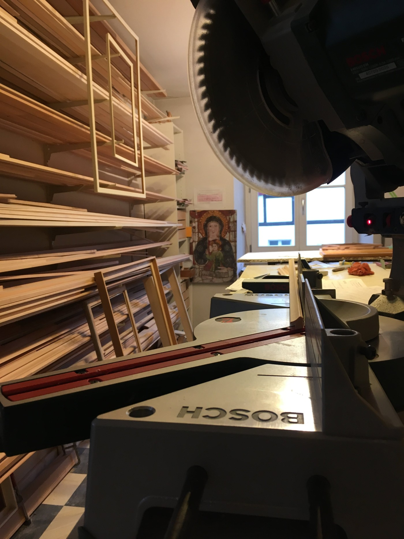 Werkstatt – Rahmenatelier & Vergolderei Maschera d\'Oro