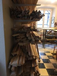 Roh Holz Leisten 2