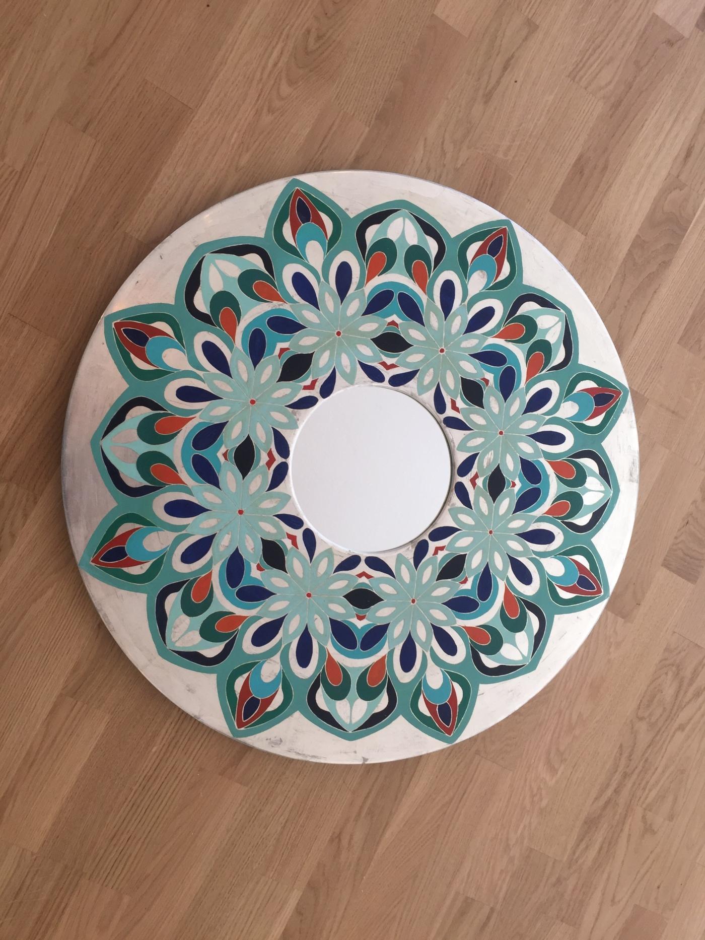 Mandala Spiegel – Rahmenatelier & Vergolderei Maschera d\'Oro