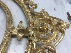 Rahmen Gold Poliert